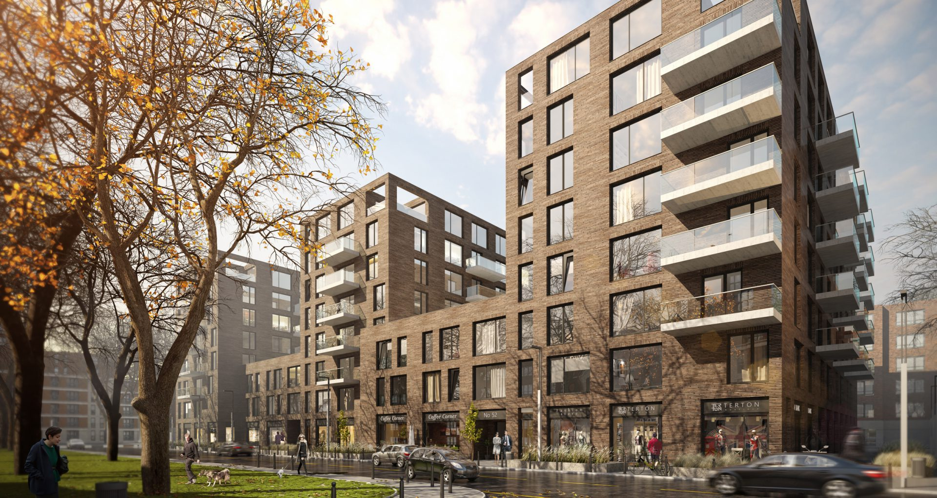 Residential Area / London