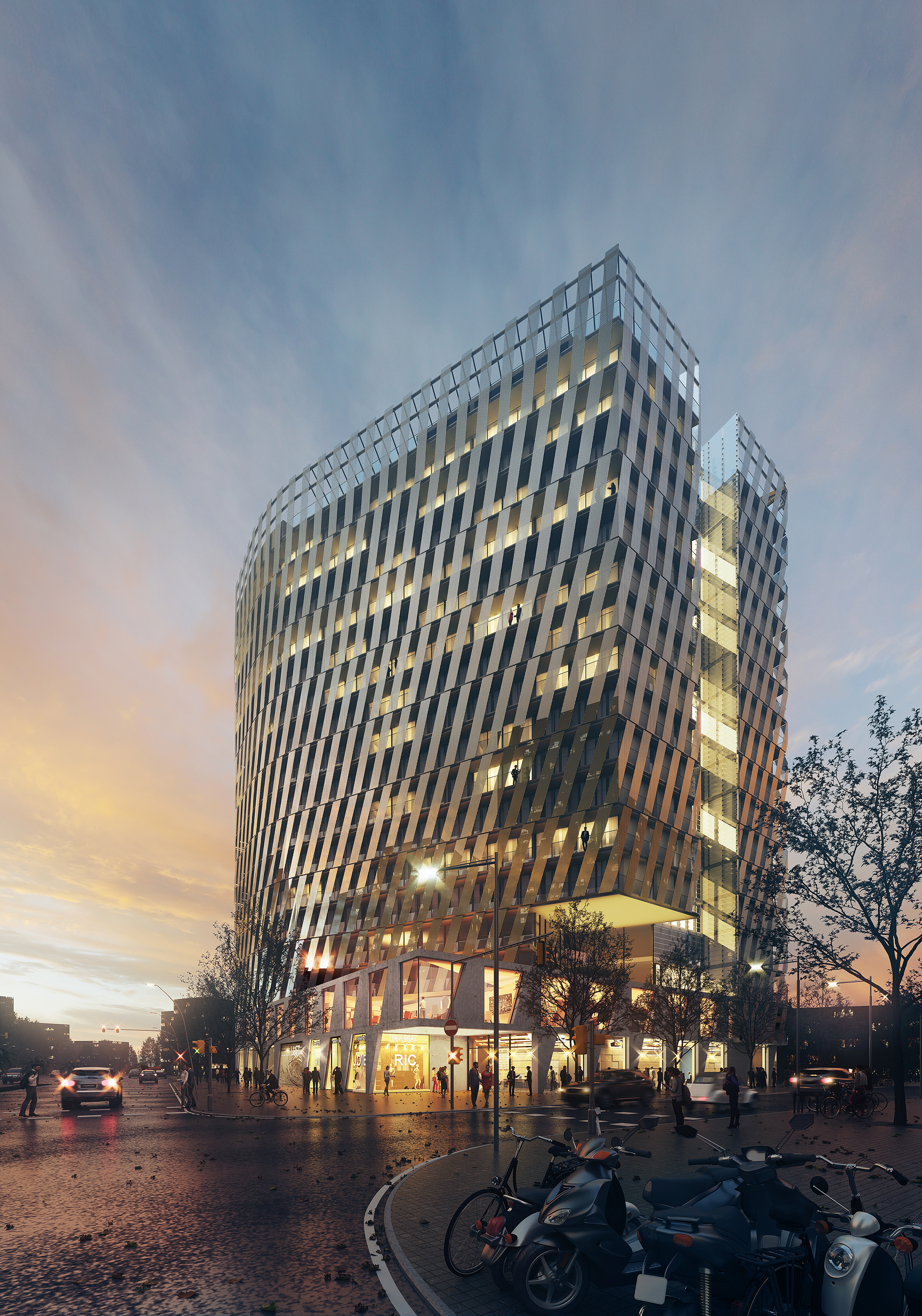 Tembo Suites and Apartments in Barcelona / HYBRIDa architecture / aZCON Architecture / D388 Arquitectes